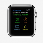 You can now access Pocket Informant on your Apple Watch