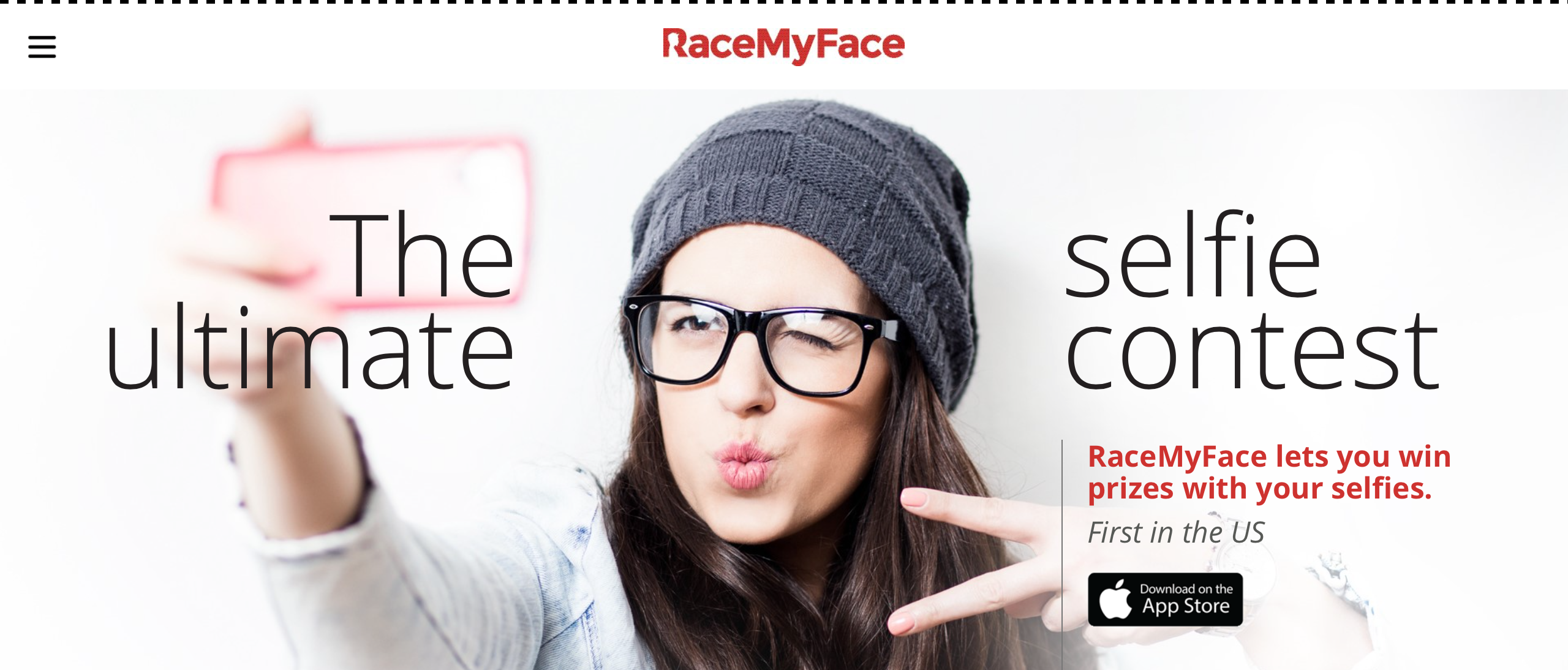 Take your selfies up a notch with RaceMyFace competitions