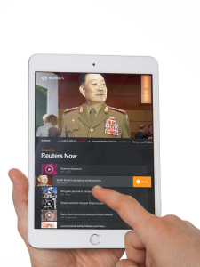 Now available: Personalized news for iPad with Reuters TV