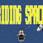 Free fall through the galaxy in Riding Space