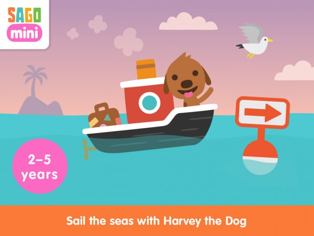 Sago Mini Boats Harvey
