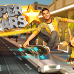 Master the grind rails in Ronaldo & Hugo: Superstar Skaters