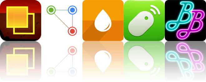 Today's apps gone free: Hyper Square, Gradify, Remote Mouse and more