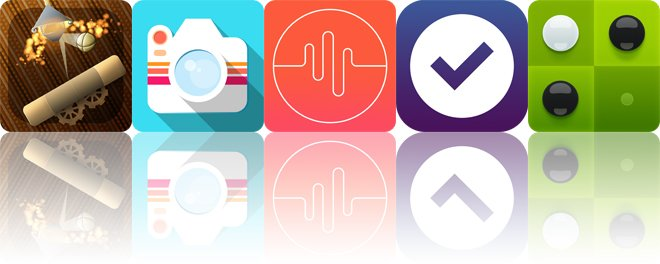 Today's apps gone free: Anodia, Layered, PitchFork and more