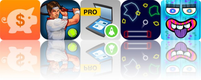 Today's apps gone free: Fudget, Motion Tennis, My Scans and more