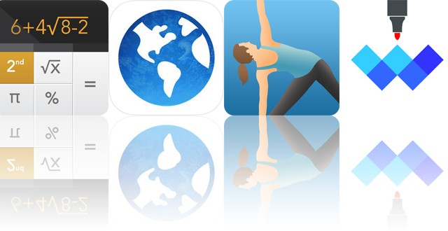 Today's apps gone free: Calculator+, Pocket Travel, Pocket Yoga and more