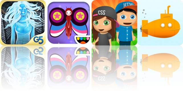 Today's apps gone free: Inbetween Land, Paint My Wings, CodeQuest and more