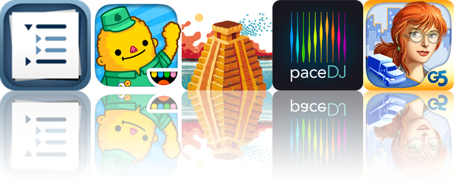Today's apps gone free: Cloud Outliner, Toca Life: Town, Necklace of Skulls and more
