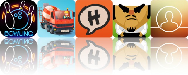 Today's apps gone free: Bowling Central, Little Builders, Halftone 2 and more