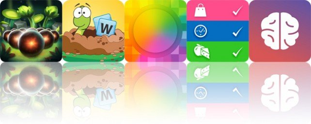 Today's apps gone free: Globosome, Word Wow, Blurred Wallpapers and more