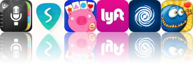 Today's apps gone free: Super Notes, Silvertune, Kids Card Matching and more