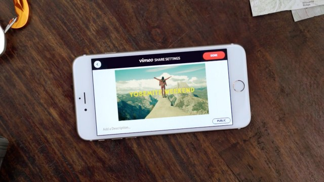 Vimeo's Cameo focuses on being a top-notch iPhone video editor