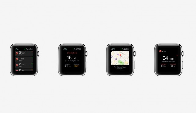 Fantastic navigation app ETA arrives on the Apple Watch