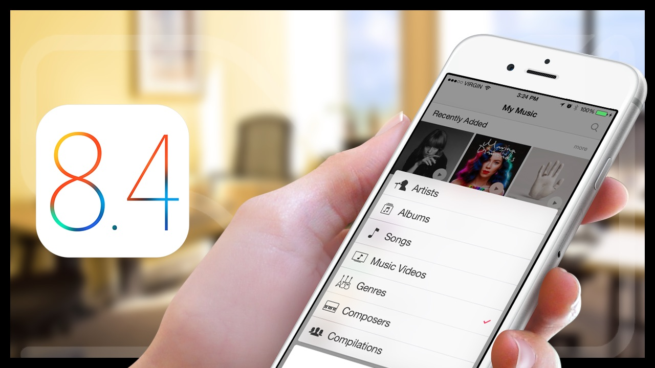 Apple to release iOS 8.4 ahead of Apple Music launch