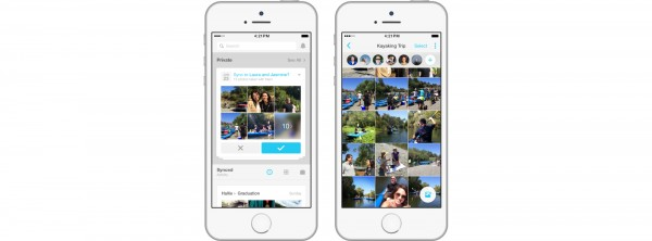 Share a movie with the improved Moments for Facebook