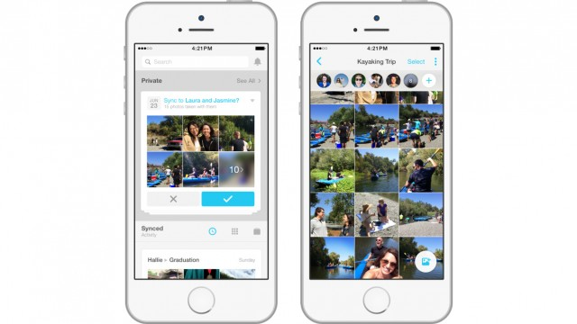 Facebook's new Moments app is an easy way to privately share photos