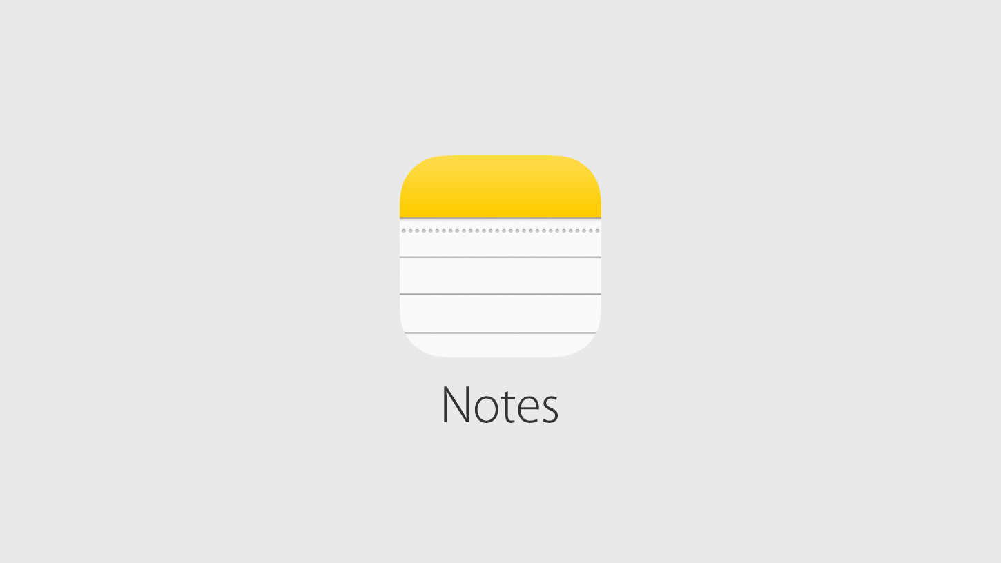 Notes App Deleted From Iphone