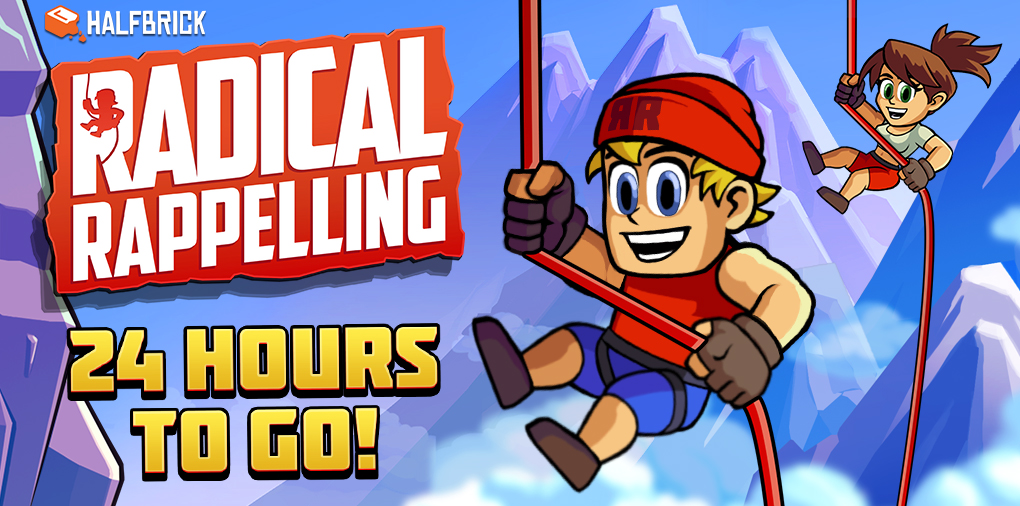 Radical Rappelling, the latest game from Halfbrick Studios, will arrive on the App Store soon