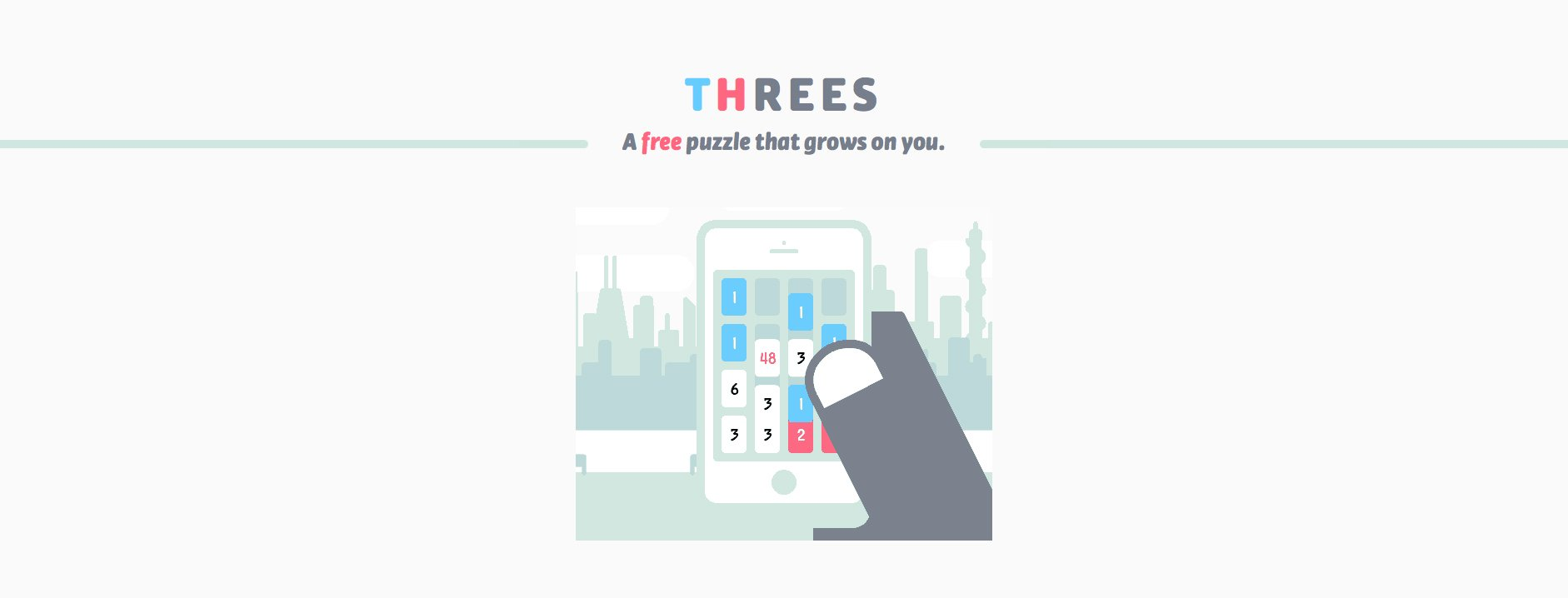 Apple's 2014 iPhone Game of the Year, Threes!, is now free