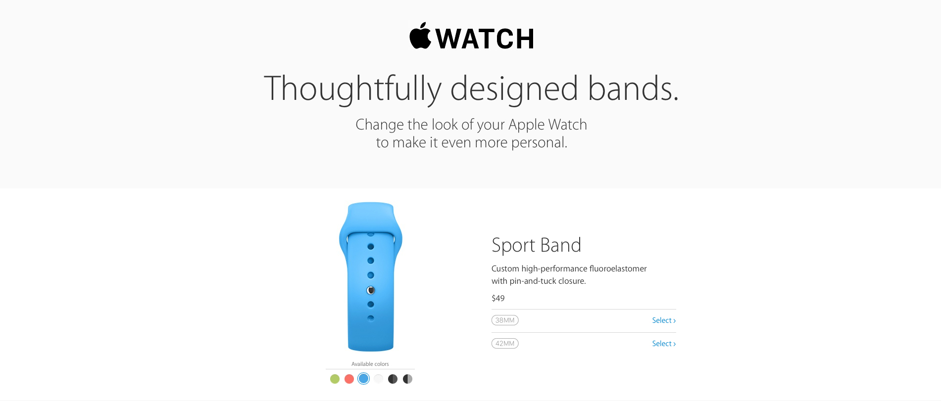 Many Apple Watch bands are now shipping in one business day