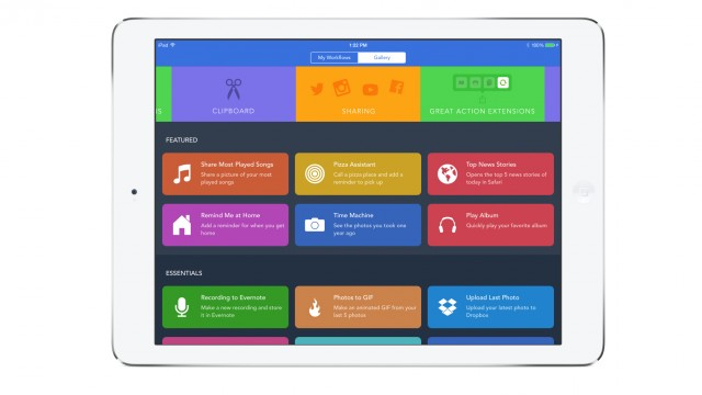 Powerful automation app Workflow gets even smarter with an update