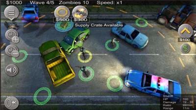 Stop an endless horde of undead monsters in Zombie Defense