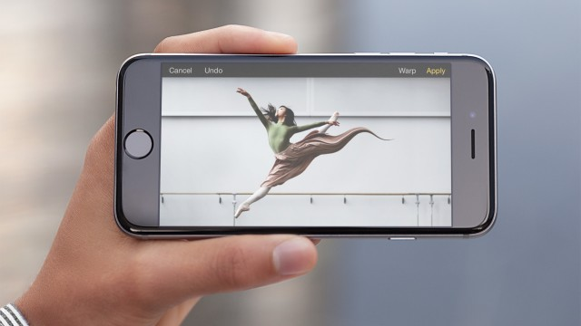 Retouch photos using just your fingertip with Pixelmator