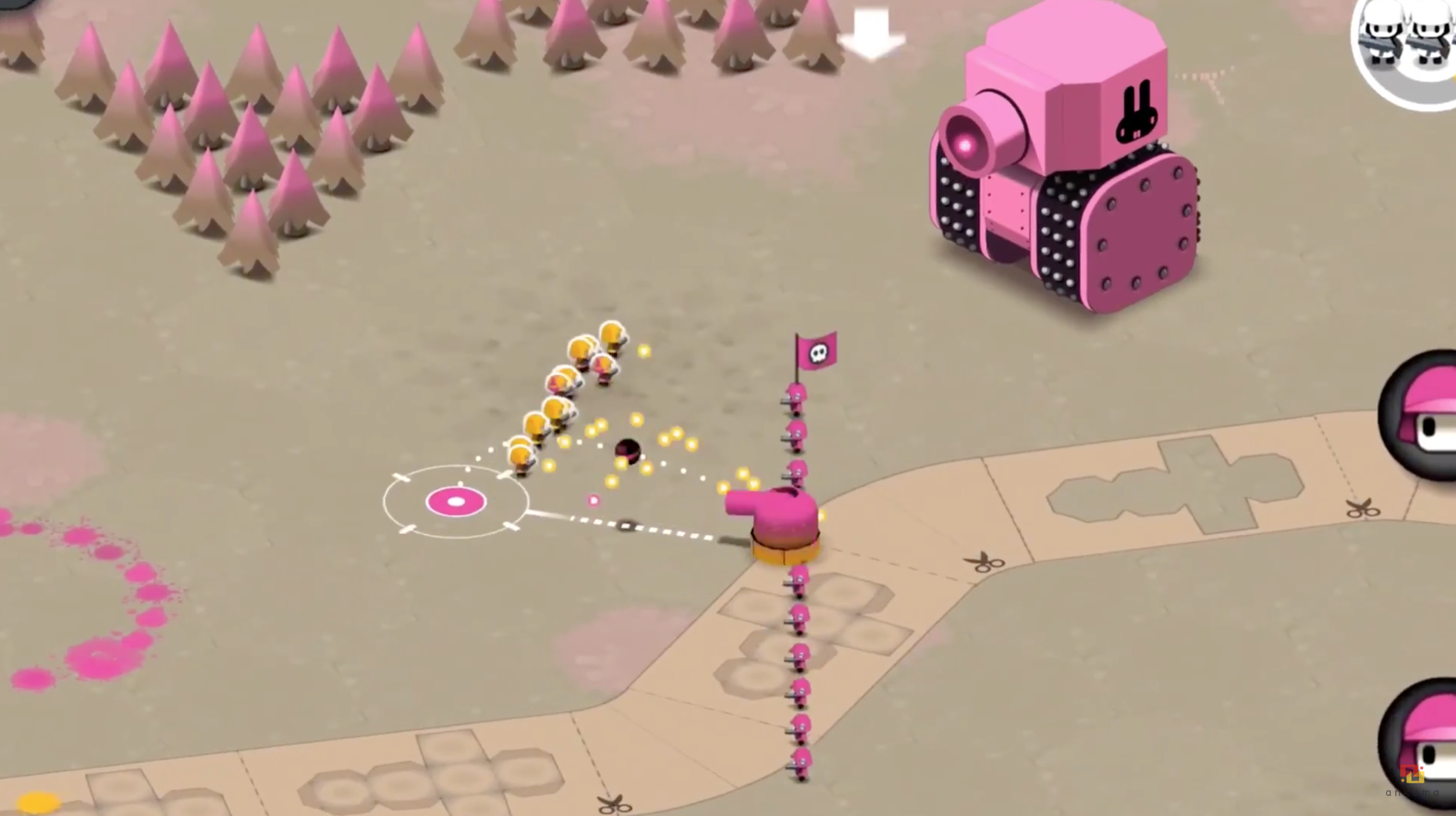 Tactile Wars, a fast-paced war game, soft-launches on iOS