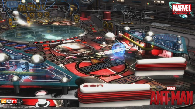 Marvel Pinball's Ant-Man table will arrive just in time