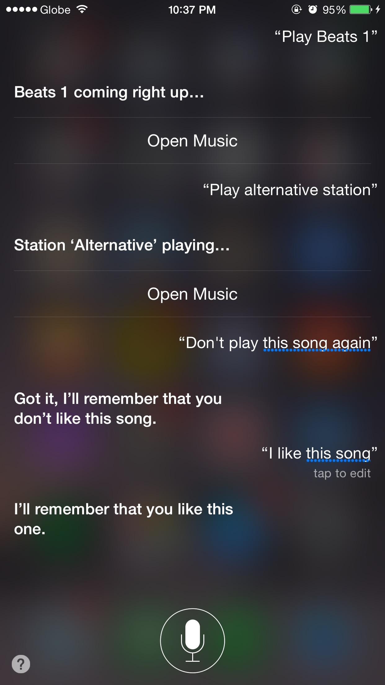 Siri, tune my radio