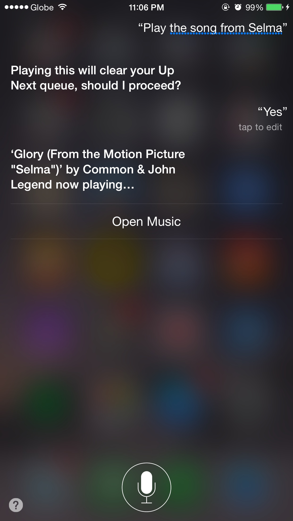 Siri, if you say so