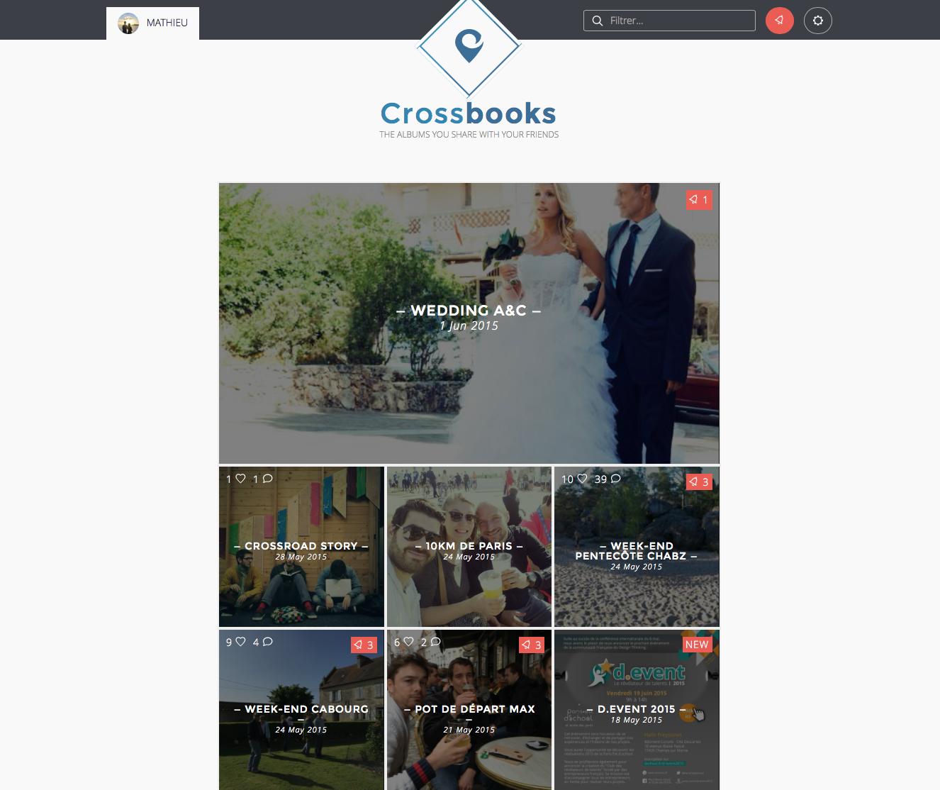 Crossroad Homepage