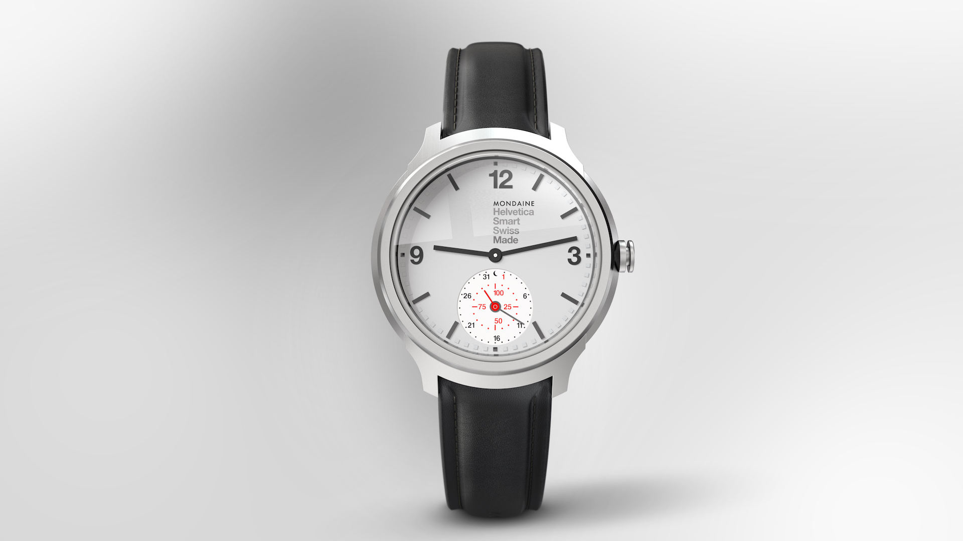 Swiss watchmaker Mondaine jumps onto Apple Watch's turf