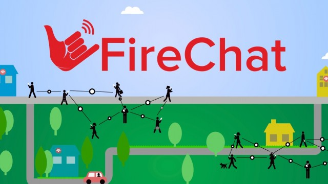 Send private messages without the Internet using FireChat