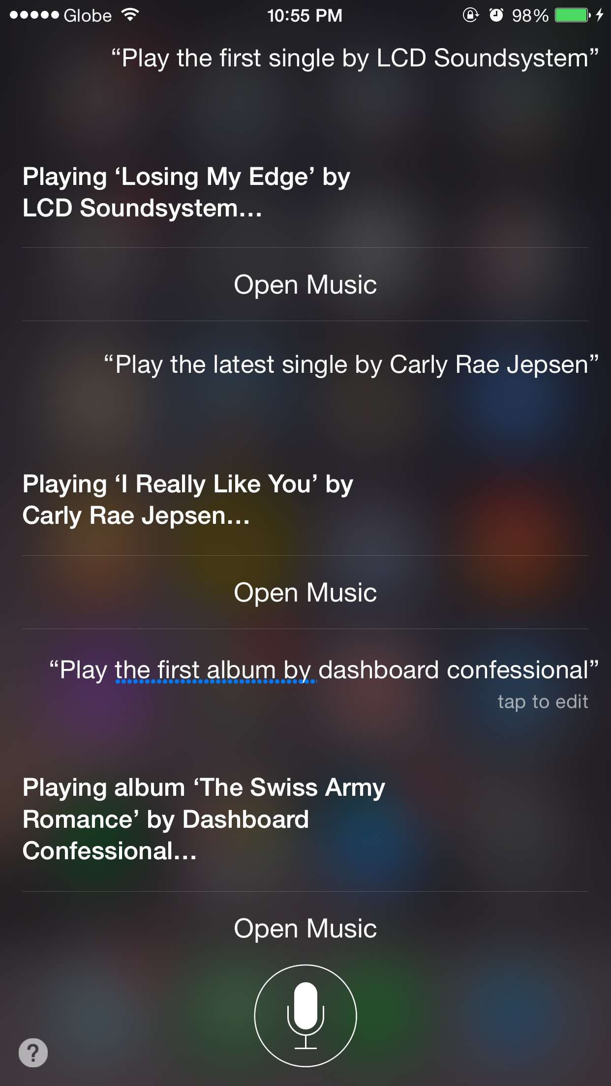 Siri, what came first?