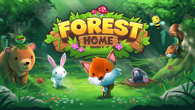 Be a hero, guide each cute critter to their Forest Home
