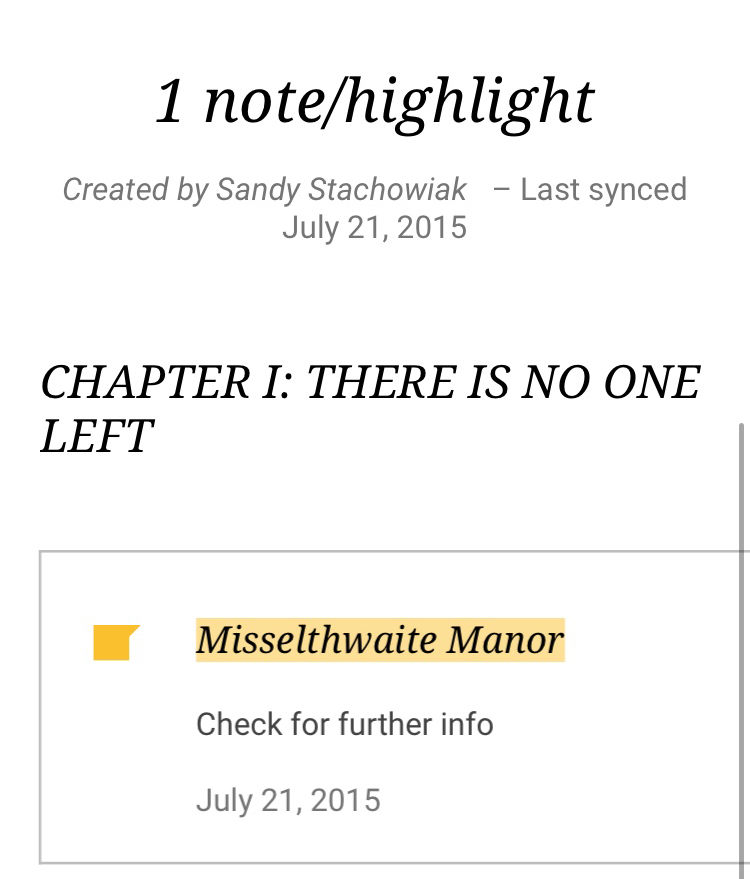 Google Play Books Annotations