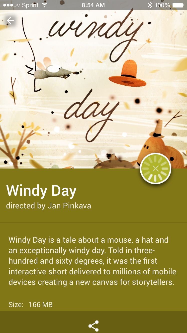 Google Spotlight Windy