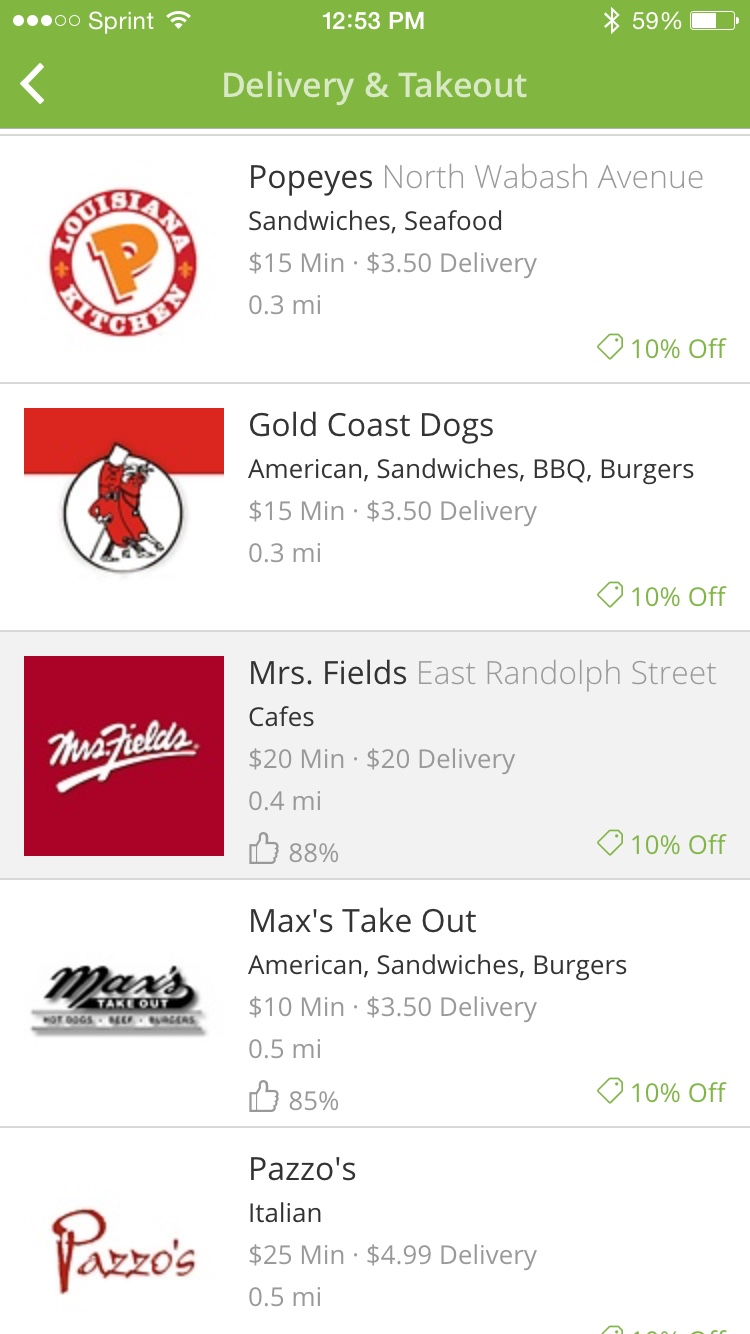 Groupon To Go Delivery