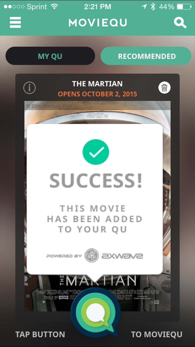 MovieQU Success