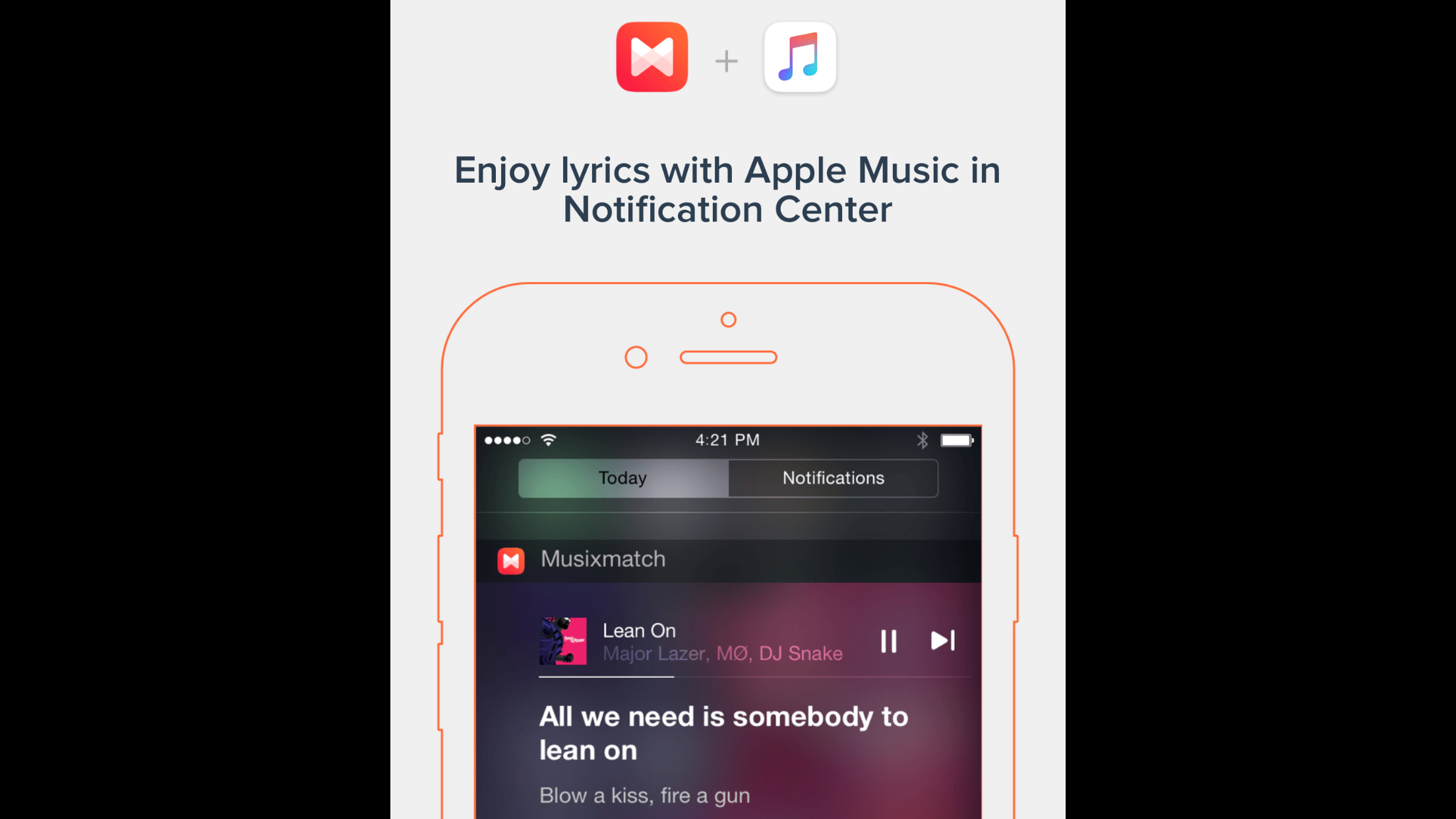 Musixmatch plays nice with Apple Music