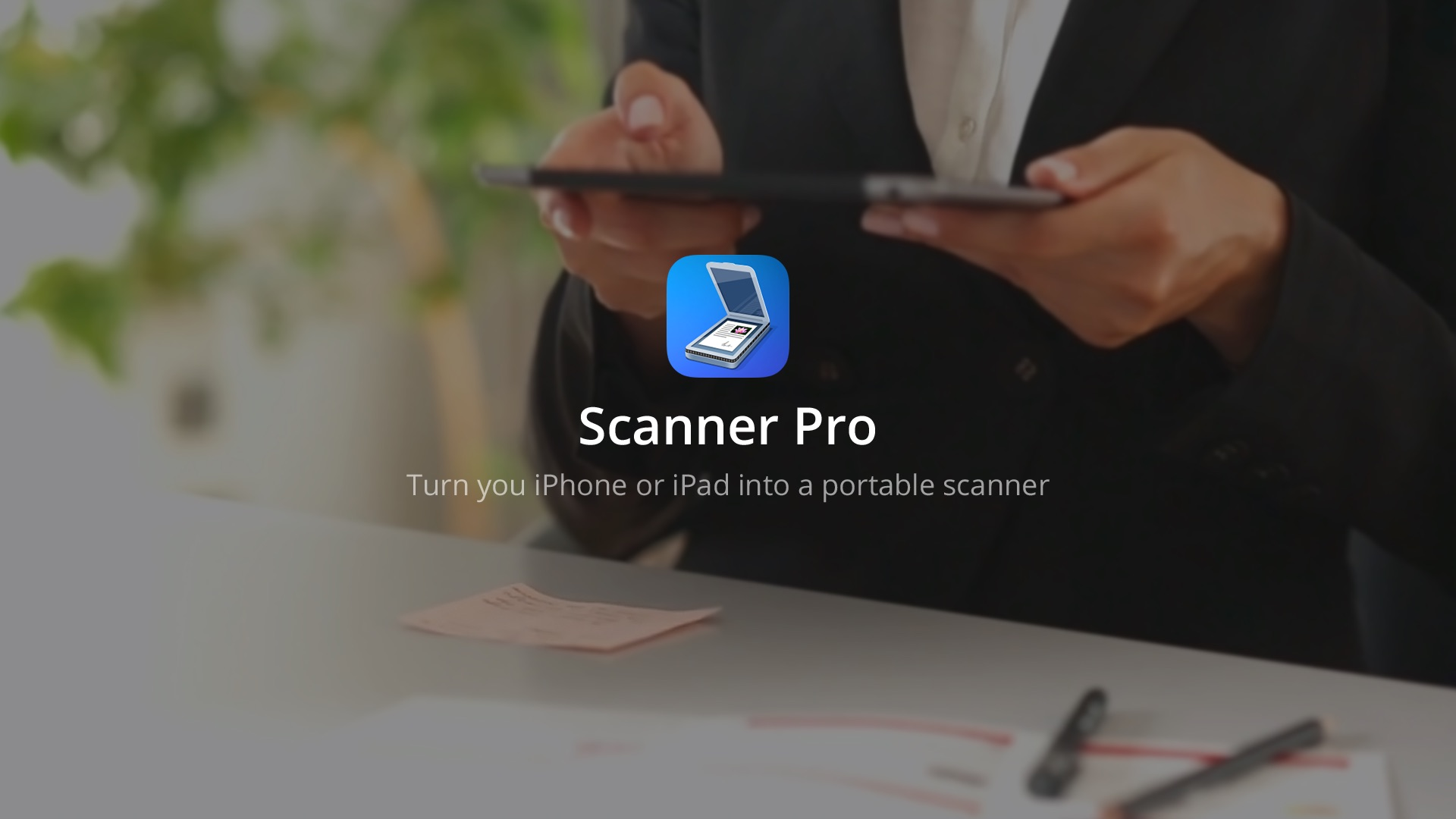Any iOS device is a portable scanner with Scanner Pro 6