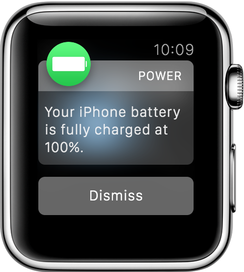 Power Watch Notification