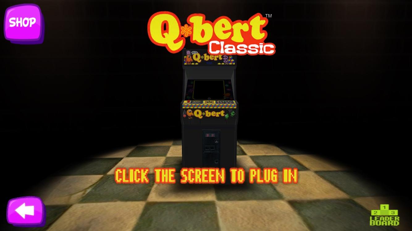 Qbert Classic Mode