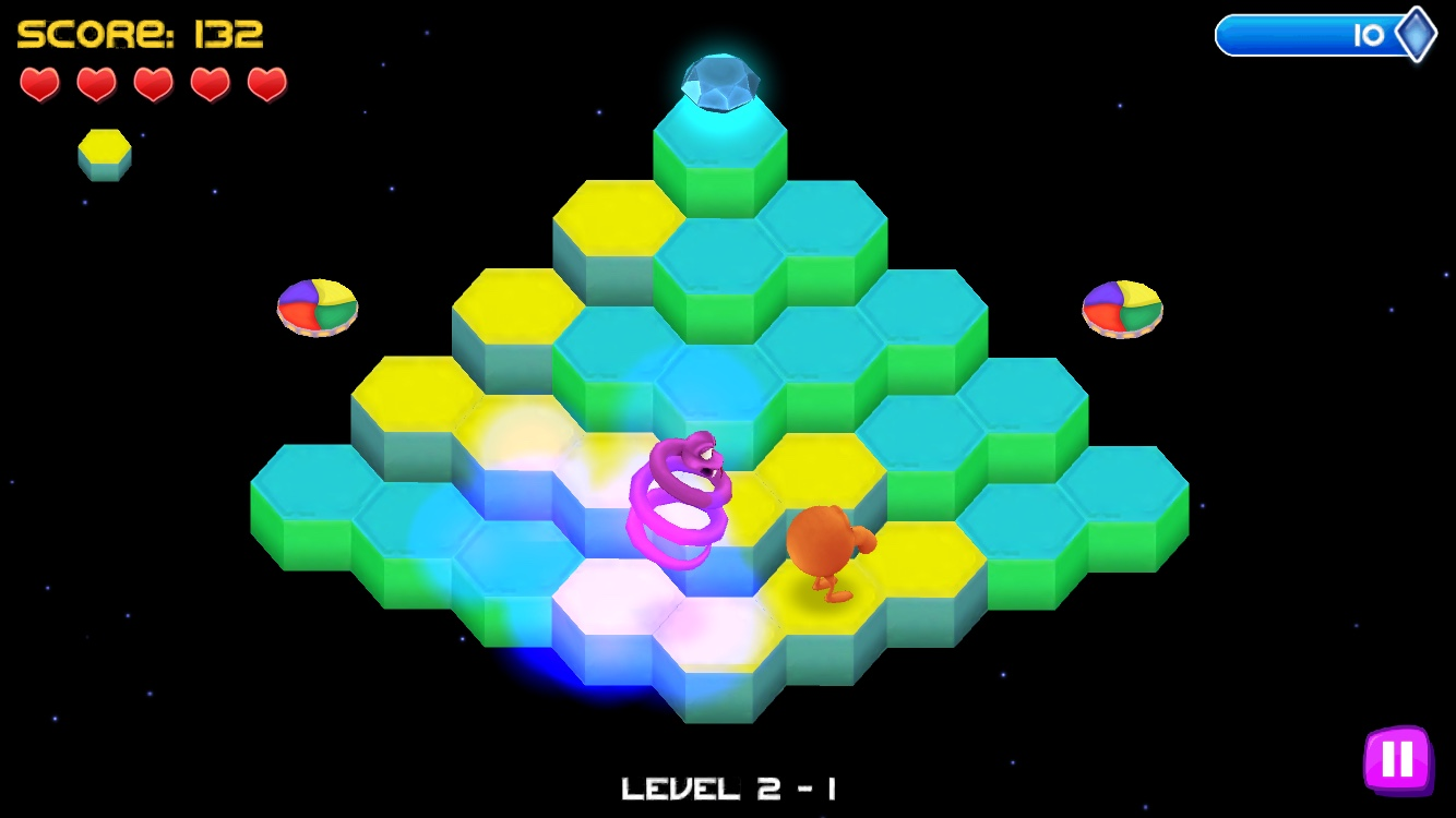 Qbert Rebooted Mode