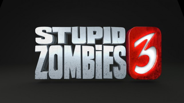 Save your brains by blowing the heads off Stupid Zombies 3