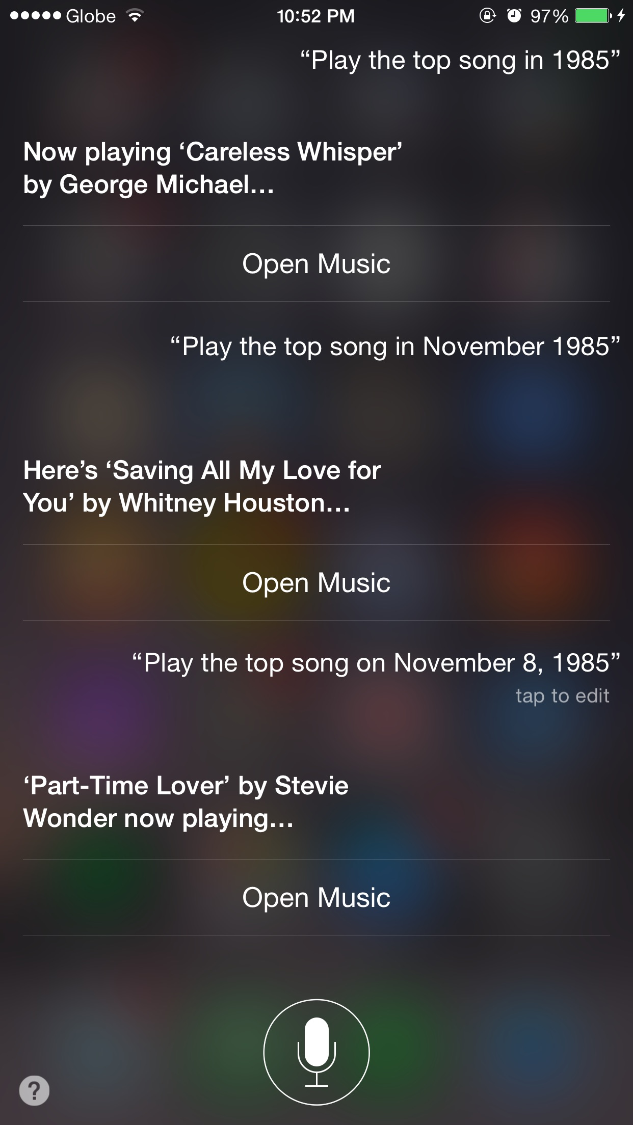 Siri, take me back in time