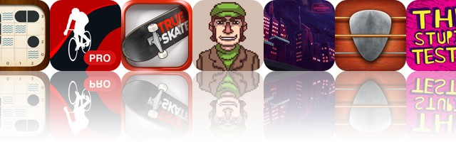 Today's apps gone free: Warship Solitaire, Runtastic Road Bike, True Skate and more