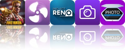 Today's apps gone free: Duke Nukem, Sleepy Fan, Project Reno and more