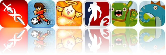 Today's apps gone free: Infinity Blade, Pixel Cup Soccer, Burn The Corn and more